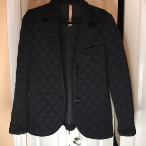 Bailey 44 Black quilted blazer